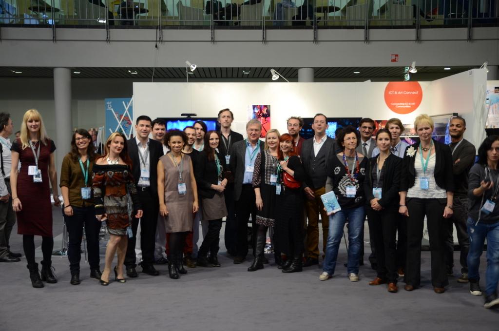 ICT & Art Connect Team at ICT2013