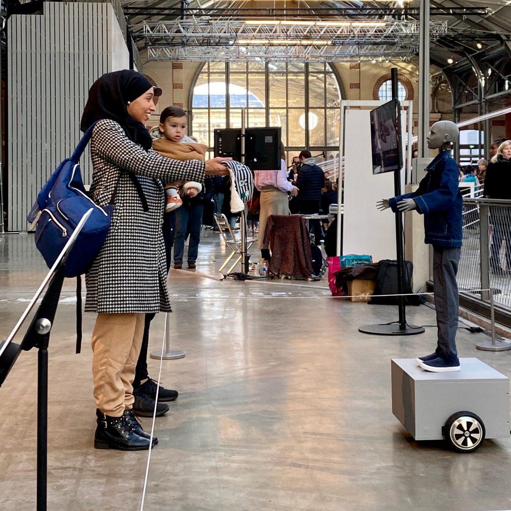 Cyberspecies Proximity at CENTQUATRE in Paris